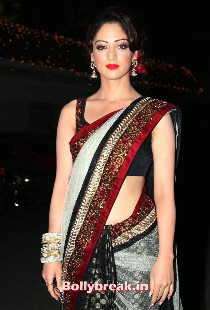 Sandeepa Dhar, Who Looked the Hottest at Raghav Sachar - Amita Pathak Wedding?