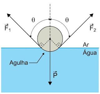 Seção transversal circular da agulha