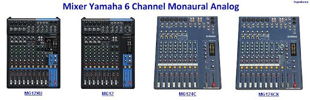 Harga Mixer Yamaha 6 Channel Monaural