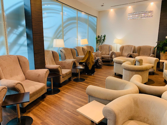 SkyCourt Lounge Review