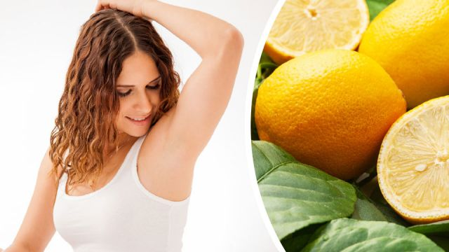 Wonderful Benefits And Uses Of Lemon (Nimbu)- Underarms To Get Rid Of The Foul Smell Of Sweat