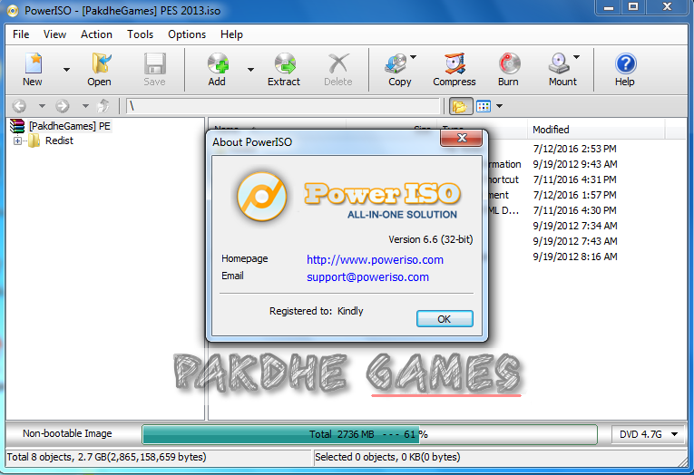 cara install power iso dan tutorial mount file iso