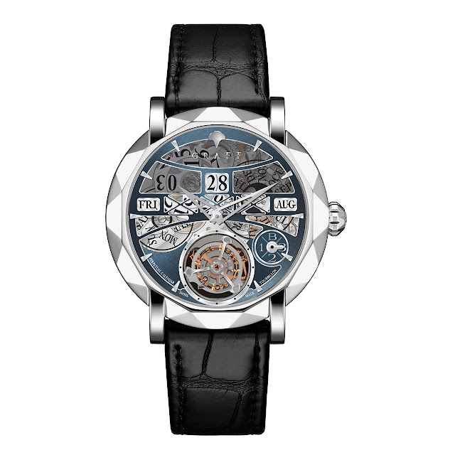 Graff Diamonds MasterGraff Perpetual Calendar Mechanical Automatic Watch