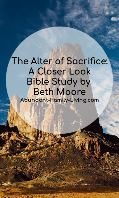 The Altar of Sacrifice: A Closer Look