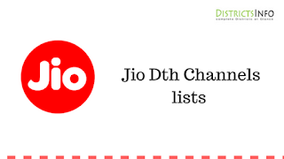 Jio Dth Channels lists