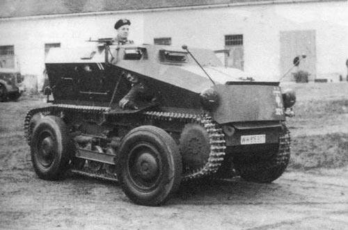 Средний разведывательный колёсно-гусеничный бронеавтомобиль Sd.Kfz. 254