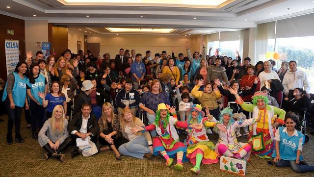 CILSA festejó el Día del Niño, junto al Hotel Hilton Buenos Aires, entregando 46 sillas de ruedas