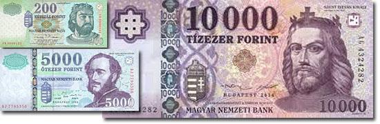Dinheiro do mundo -Hungria - Florim