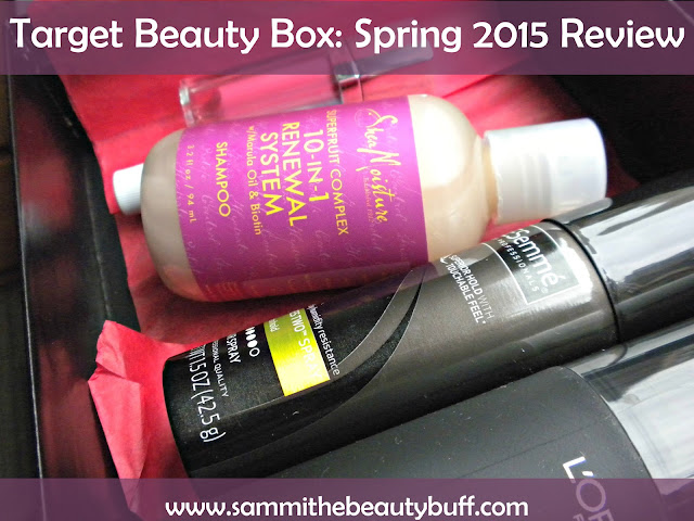 Target Beauty Box: Spring 2015 Review