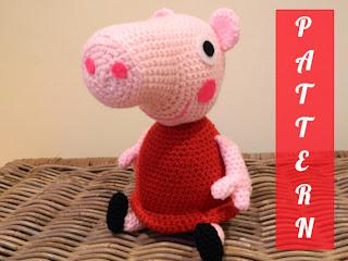 Peppa Pig ad uncinetto!