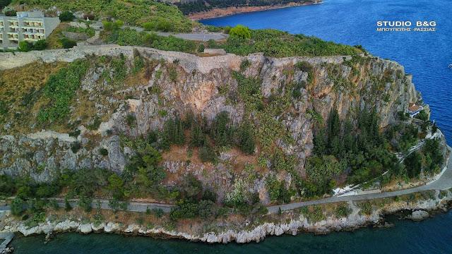 Ακροναυπλία: Ο περιτειχισμένος οικισμός του Ναυπλίου από την αρχαιότητα