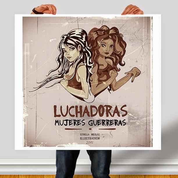 diseño cartel, cartel mujeres, ilustracion