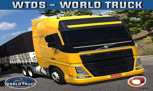 تحميل لعبة World Truck Driving Simulator مهكرة للاندرويد اخر اصدار