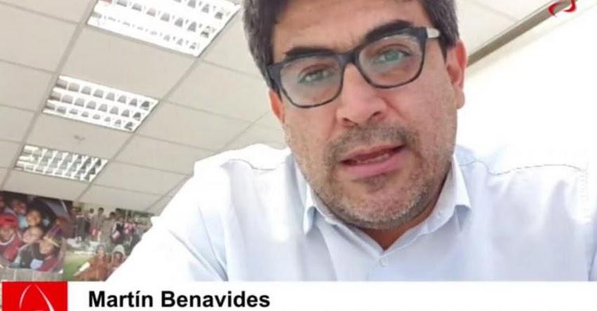DÍA DEL MAESTRO: Ministro de Educación destaca compromiso de docentes durante emergencia sanitaria