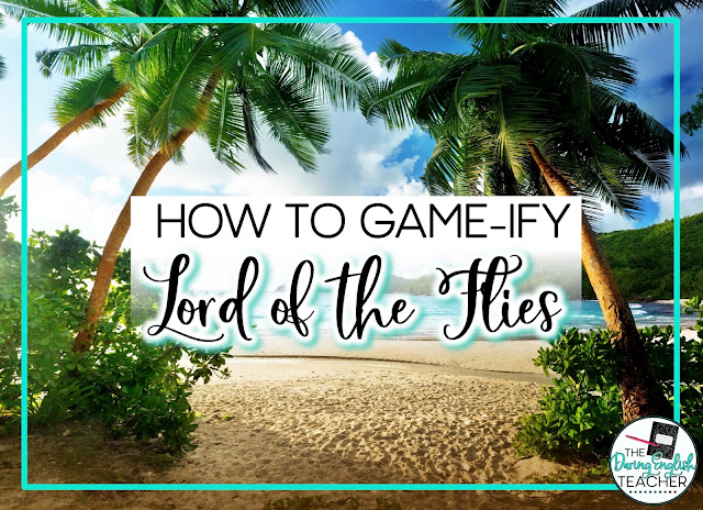 Gamifying Lord of the Flies for a Fun Novel Study