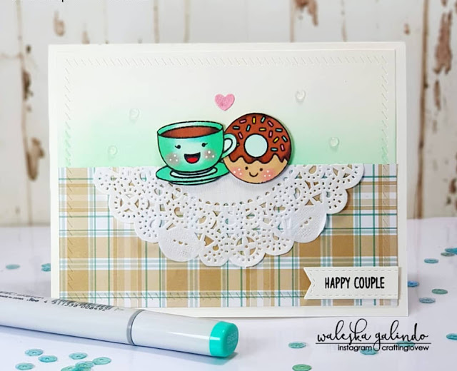 Sunny Studio Stamps: Breakfast Puns Customer Card Share by Waleska Galindo