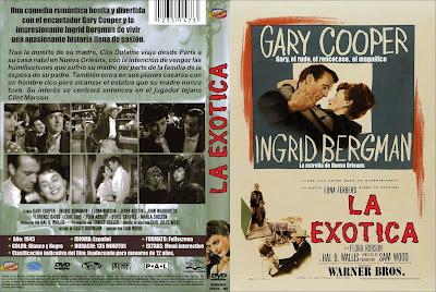 Carátula dvd: La exótica (1954) Saratoga Trunk