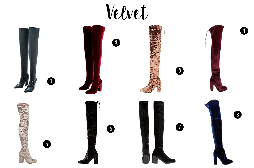 Elizabeth l Tendances cuissardes shopping over the knee boots l THEDEETSONE l http://thedeetsone.blogspot.fr