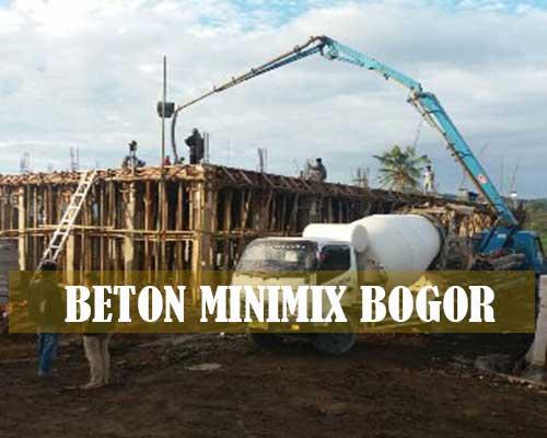 HARGA BETON MINIMIX BOGOR 2021