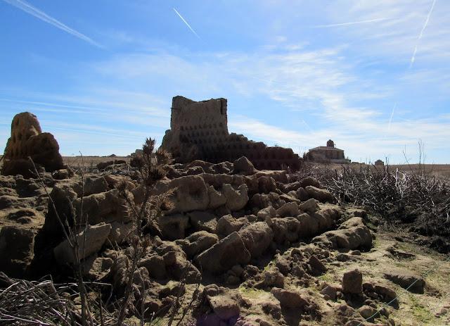 Restos de palomar en Zamora