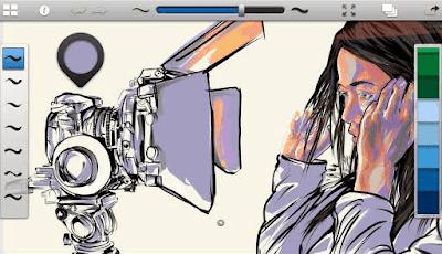 Aplikasi painting android