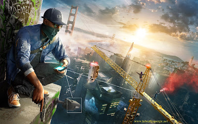 watch dogs 2 wallpaper