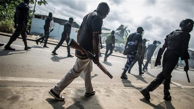 Authorities in Gabon arrests up to 1,100 people in post-election chaos
