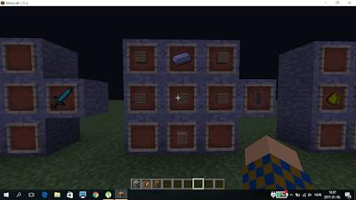 minecraft pajzs