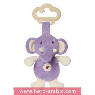 لعبة قطنية فيل صغير للمواليد الجدد
