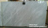 White Pearl Marmer