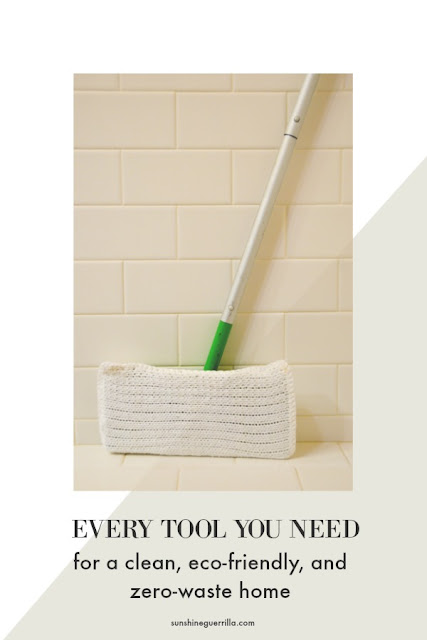 All the Natural, Zero-Waste, and Eco-Friendly Cleaning Tools You Need