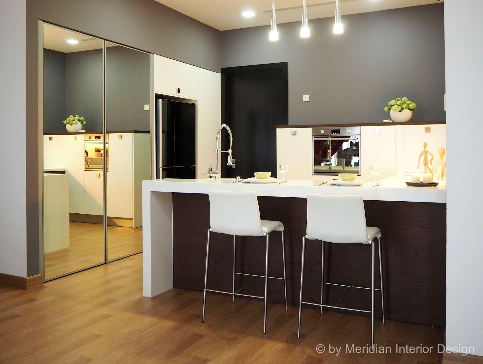 inspiration through creative interior designs: compact kitchen
