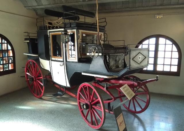 Un altre carruatge del museu