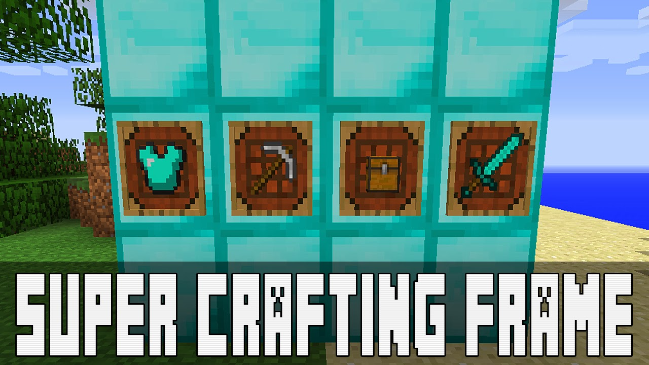 super crafting frame crafting frame como instalar mods no minecraft 3034