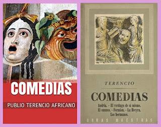 portadas de comedias de Terencio