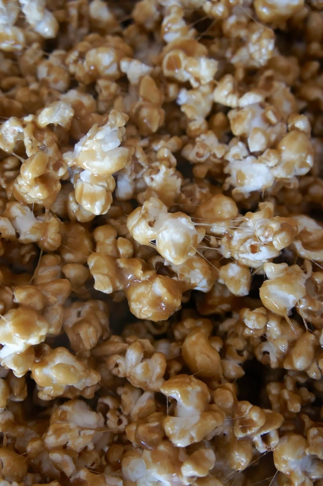 Savory Sweet and Satisfying: Caramel Marshmallow Popcorn