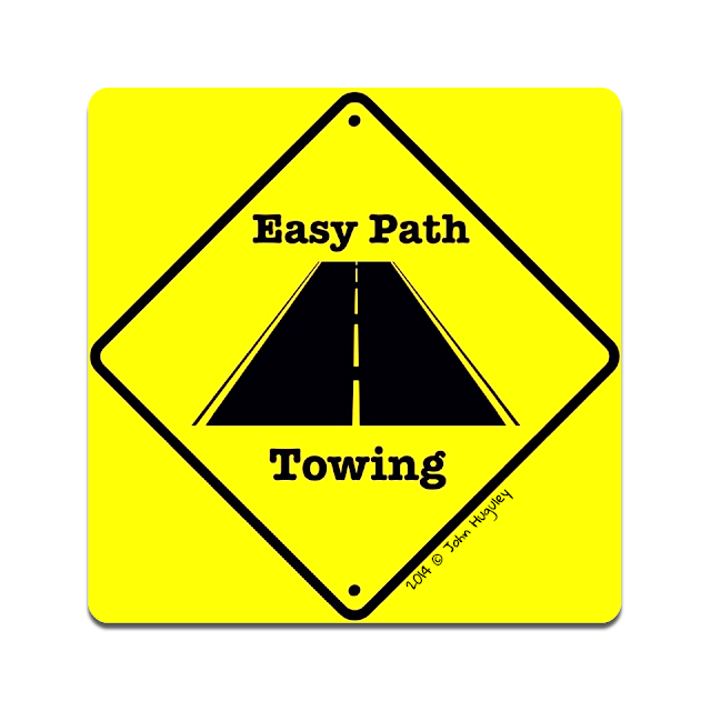 """Towing -Seattle 3D Graphic Design, Logos, Banners and Post Cards, Printing - """"John Huguley"""""""