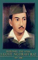 gambar-foto pahlawan nasional indonesia, I Gusti Ngurai Rai