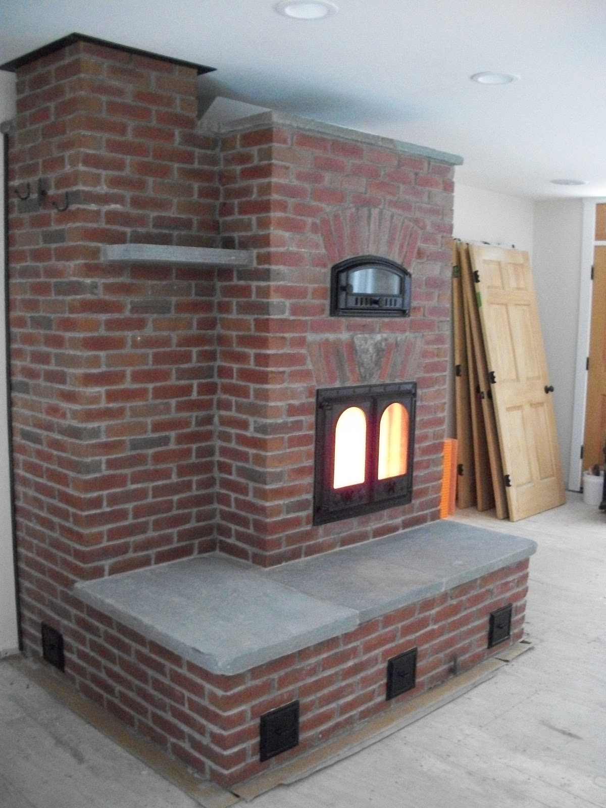 Michael Thronson Masonry Brick Masonry Heater Pictures