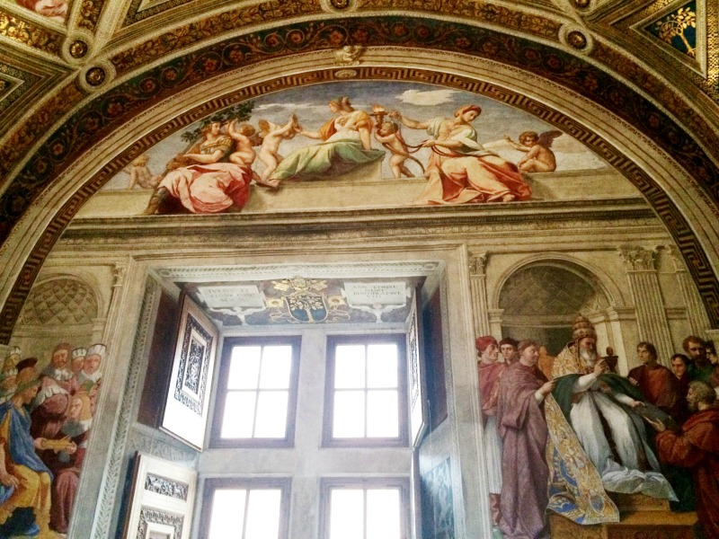 Raphael Rooms at Vatican Museum