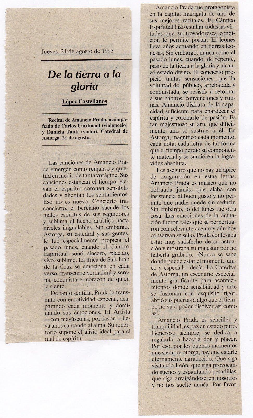 Critica de López Castellanos