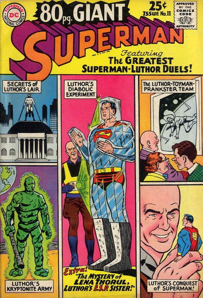 Episode #383 Part II: Superman Comic Book Cover Dated June 1965: 80 Page Giant #11!