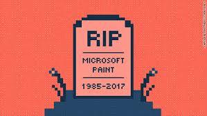 Microsoft Paint Dead