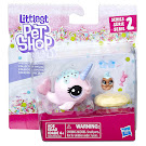 Littlest Pet Shop Series 2 Pet Pairs Ambrosia Narwhalz (#2-48) Pet