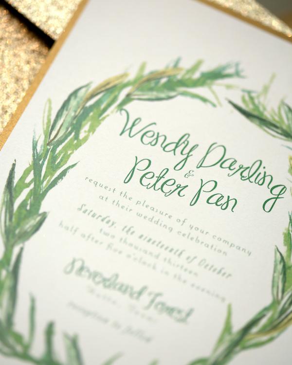 bride+groom+peter+pan+themed+neverland+wedding+tinker+bell+fairytale+princess+wendy+darling+captain+hook+fairy+dust+green+rustic+andy+sams+photography+34 - Neverland