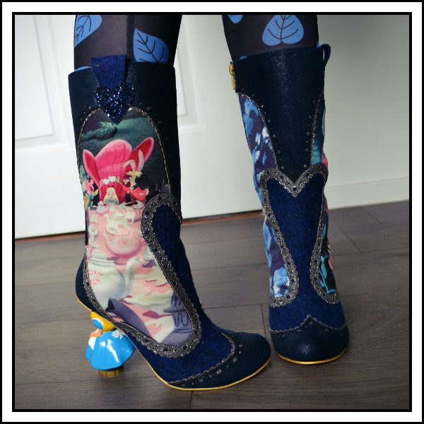 wearing irregular choice disney alice lost your muchness boots