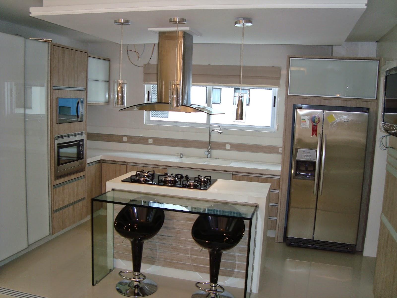 Construindo Minha Casa Clean Tend Ncia De Cozinhas Com Ilha Central