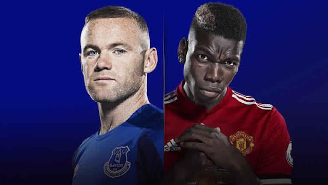 Live Streaming Premier League Everton v Manchester United