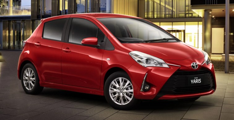 Toyota Yaris 2019 sat nav instructions