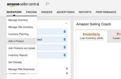 Add Product on Amazon